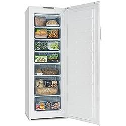 Klarstein Iceblokk 225 • congelatore a 4 stelle • 212 litri freezer• 7 livelli • 170 cm di altezza • modalità flash-freeze • temperatura da -16 a -22 ° C • Consumo annuo di energia 198 kWh • bianco