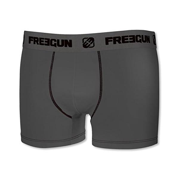 Freegun – Juego de 4 bóxers infantiles de algodón