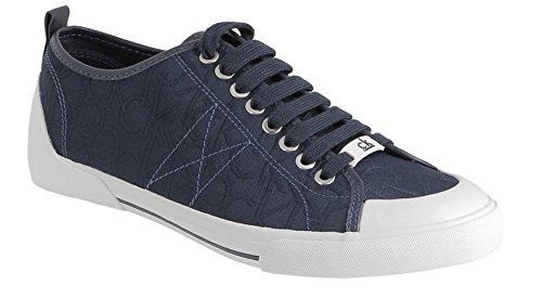 Sneakers Homme Calvin Klein mod Logo 3d jacquard Dark Navy Couleur Photo Taille au choix Bleu