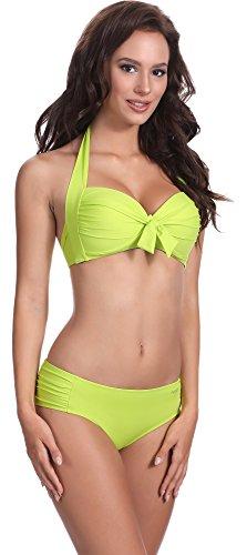 Feba Damen Push Up Bikini F20 Muster-510