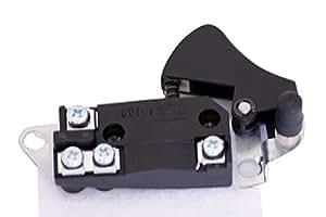 Interrupteur pour Makita type type 1100 4107BR 9105 5014B 5016B (Article No. 651034-2)