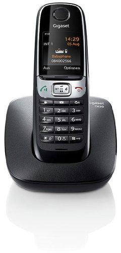 Gigaset C620 Telefon - Schnurlostelefon/Mobilteil - schnurloses Telefon - Farbdisplay/Dect-Telefon/Freisprechen schwarz