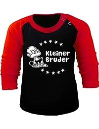 5a7d311a14122c KLEINER FRATZ Baby/Kinder Baseball Langarm T-Shirt - Kleiner Bruder