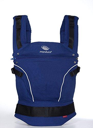 Manduca 222-03-73-000 - Mochila portabebés, de 3.5 kg hasta 20 kg, Azul
