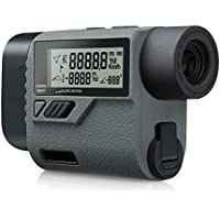 SUAOKI Golf Range Finder 656Yards Laser Rangefinder with Slope Compensation, 0.55Yards High Accuracy, Flagpole Locking, LCD Display, 6x magnification, Speed Angle Range Height Distance Measurement