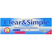 Clear and Simple Pregnancy Test Kit