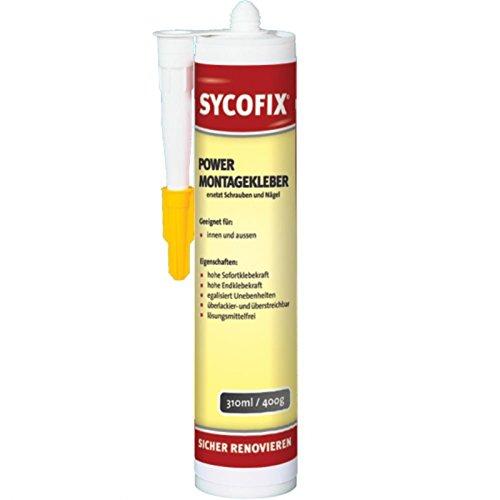 SYCOFIX Power Montagekleber (475 g) (Styropor-kleber Bis Decke Fliesen)