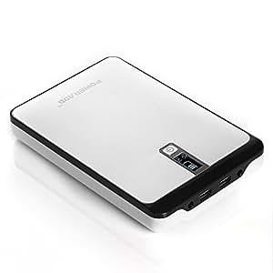 Poweradd Pilot Pro2 23000mAh Multi-Voltage (9V 12V 16V 19V 20V) Portable Charger External Battery Backup Power Bank with Smart LCD Digital Display for Tablet, Netbooks, Notebooks, Laptops, Smart Phones and More