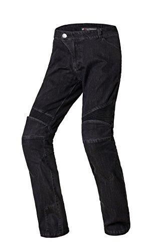 *Nerve Ranger Herren Motorrad Jeans Hose, Schwarz, L*