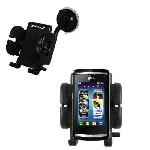 LG GC900 Viewty Smart Windschutzscheibenhalterung für KFZ / Auto - Cradle-Halter mit flexibler Saughalterung für Fahrzeuge