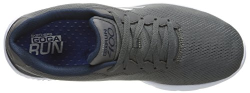 Skechers (SKEES) Go Run 400, baskets sportives homme Gris (Ccnv)