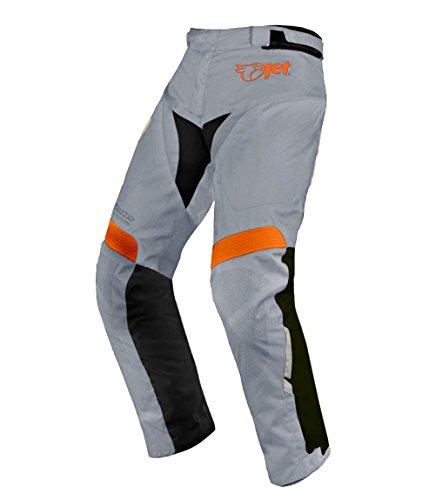 Pantalones de moto motocicleta textiles impermeable con armadura