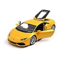 Serie di auto: auto sportivaNome del modello: Lamborghini HuracanTipo di giocattolo: giocattolo di metalloTipo di modello: prodotto finitoMateriale del prodotto: metallo, plastica di alta qualitàEtà applicabile: 8 anni o piùClassificazione di colore:...