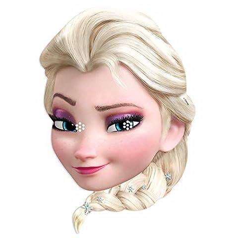 Star Cutouts–stsm168–Maske für Erwachsene Elsa–Eiskönigin