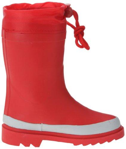 Be Only Color Hiver, Bottes de pluie mixte enfant Rouge