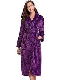 fc652c1a6f Amazon.co.uk  Bathrobes - Nightwear  Clothing