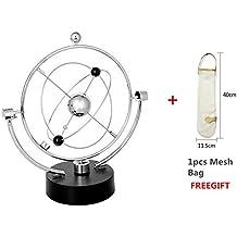 Movimiento Perpetuo de Modelo Globo Magnético Modelo Órbita Gira Péndulo Electromagnético Adornos Cinético Aparato Adornos Oficina