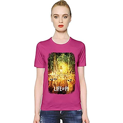 Life Of Pi Suricata T-shirt donna Women T-Shirt Girl Ladies Stylish Fashion Fit Custom Apparel By Slick Stuff