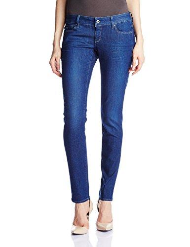 G-STAR Damen 3301 Low Benwick Superstretch Skinny Jeans Blau (dk aged 89)
