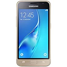 """Samsung J1 MINI - Smartphone de 4"""" (Quad Core, RAM de 1 GB, memoria interna de 8 GB) dorado"""