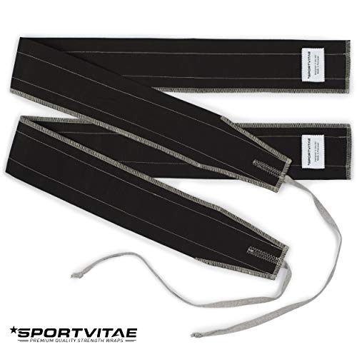 Sportvitae - Strength Wrist Wraps Adjustable and Reversible