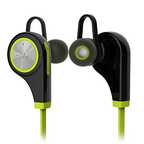 AOEIUV Auriculares Bluetooth Deportes inalámbricos Auriculares Auriculares In-Ear Música para Correr...