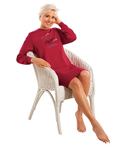 Comtessa Nachthemd Interlock-Jersey Rot