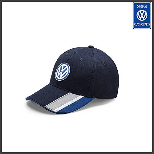 VW Genuine OEM - Volkswagen Blue Motorsport Baseball Cap - BRAND NEW!