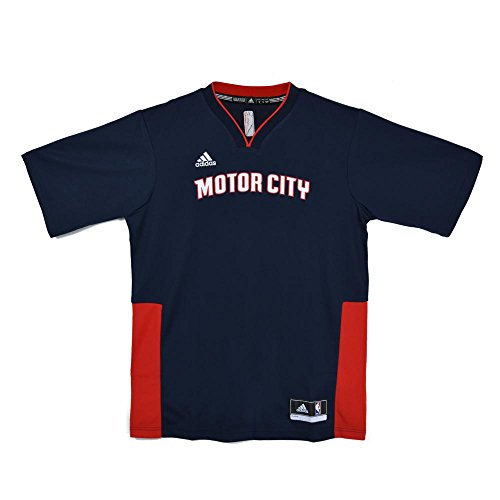 Specials SS replica jerseys Blue 2015 Detroit Pistons Adidas S Blue (Replica Blue Jersey)