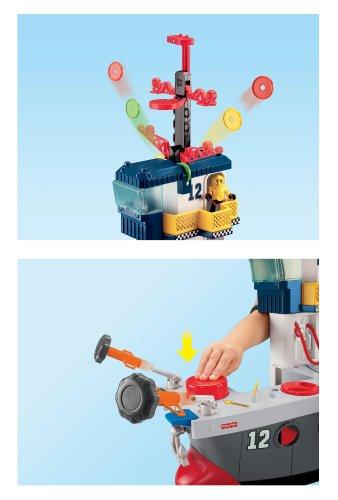 Imagen 2 de Fisher-Price - Imaginext - Portaaviones Héroes del Aire (Mattel)