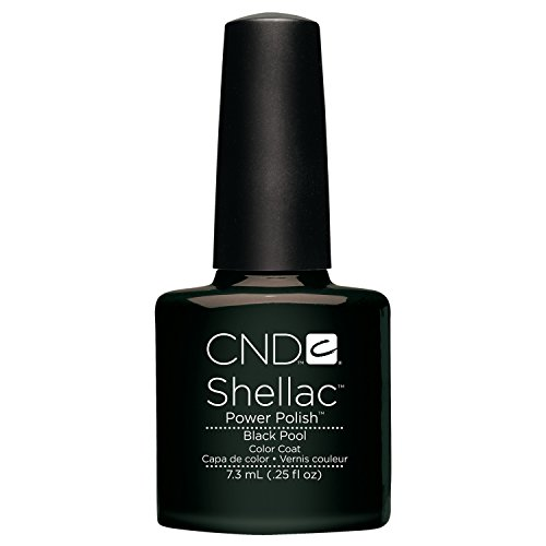 (CND Shellac black Pool, 1er Pack (1 x 7,3 ml))