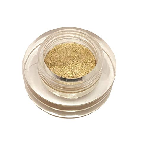HALF N' HALF MOUSSE EYE SHADOW WITH GLITTER PIGMENT FEATHER SOFT(03-GOLD), BY R K STORE NET
