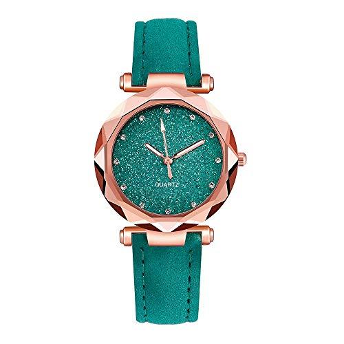 Damen Armbanduhr Groveerble Frauen Uhr Quarzuhr Koreanischen Strass Smartwatch Rose Gold Armbanduhr Outdoor Sportuhr Weiblichen Gürtel