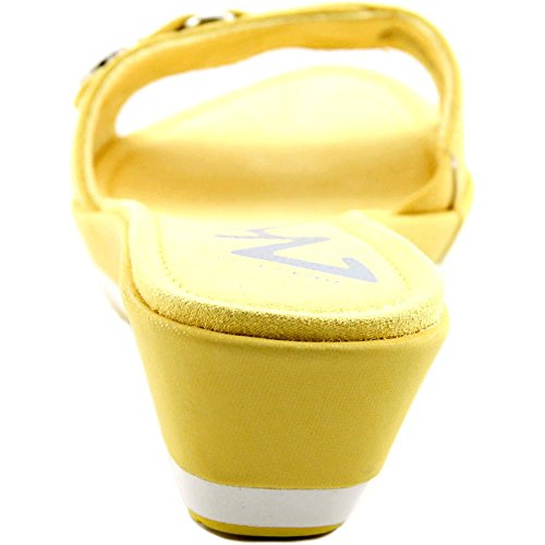 Anne Klein, Sandali donna Yellow Synthetic