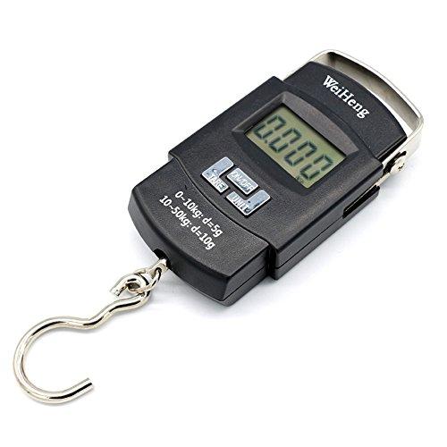 Usun, bilancia per bagagli elettronica portatile, capacità 50 kg