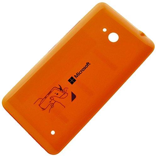 Microsoft Lumia 640 Dual Sim original Akkudeckel orange gebraucht kaufen  Wird an jeden Ort in Deutschland