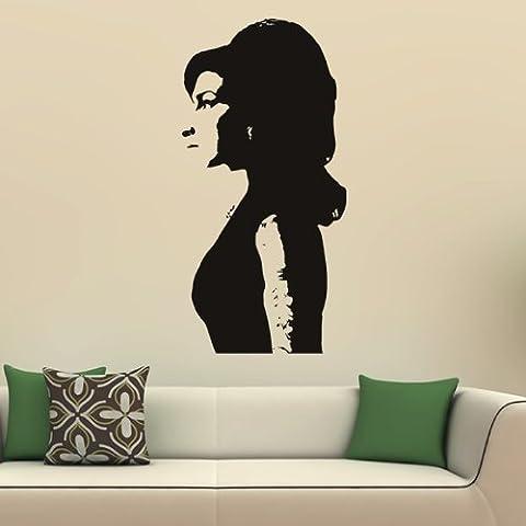 Amy Winehouse Adesivo Art Iconic Wall Sticker