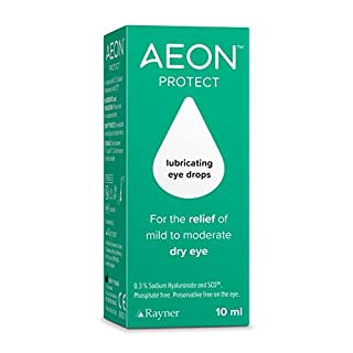 AEON PROTECT - lubricating eye drops for the relief of mild to moderate dry eyes 10ml