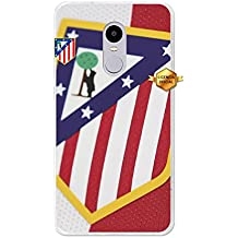 Becool TPU-XI032-ATM08 - Funda Gel Flexible Atlético de Madrid para Xiaomi Redmi Note 4X diseño escudo 1, Multicolor