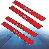 Kafuty Kühlkörper 2Pcs Desktop Narrow Strip Memory Bank Aluminium Kühlkörper für DDR/DDR2/DDR3/DDR4