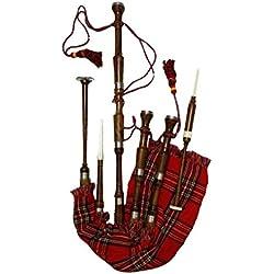 Nueva gran Highland Gaita Palisandro Tamaño Completo/Gaita Escocesa/dudelsack