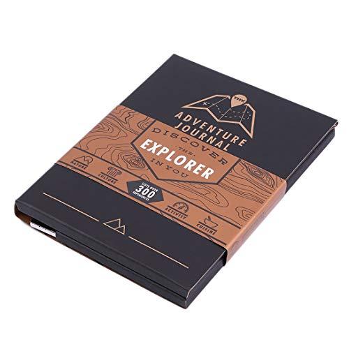 Swiftswan Voyageur spécial Design Voyageur aventureux Carte Carte Carnet de voyage avec listes de cartes Plus de 300 expériences