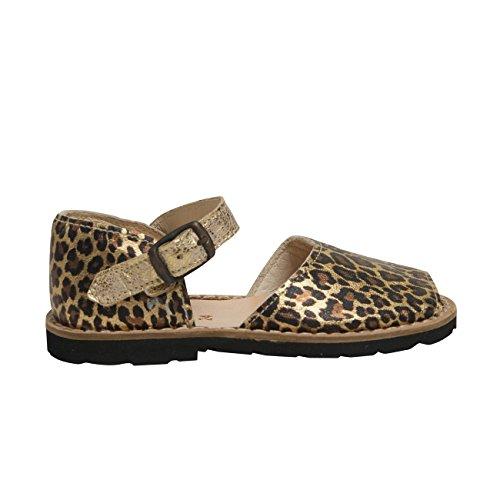 Minorquines - Sandales Frailera Boucle Jaguar - Enfant Multicolore