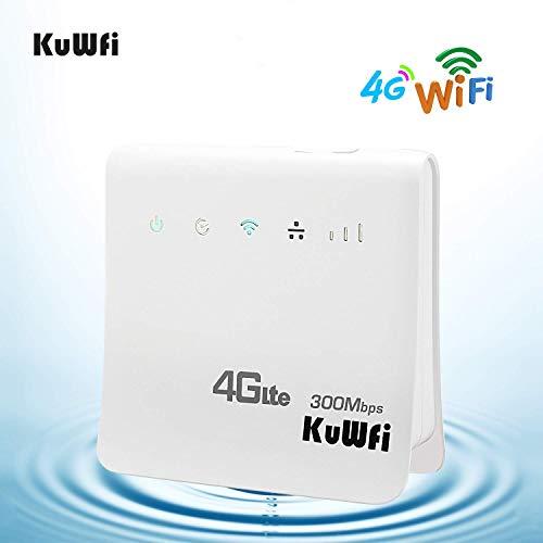 KuWFi Desbloqueado Router inalámbrico WiFi inalámbrico