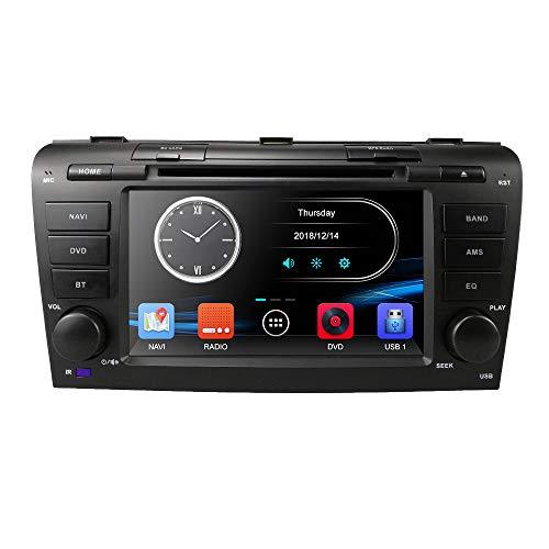 Navegador Hizpo para el coche, pantalla táctil, 7 pulgadas, HD, para Mazda...