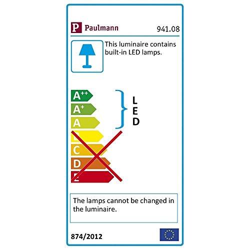 paulmann cable set led 5x4w macled 23012v dc chrome