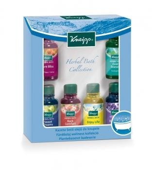 Kneipp 6 x 20ml Piece Bath Oil Herbal Bath Collection Inc Pure Bliss & Lavender (Natural Bath Oil)