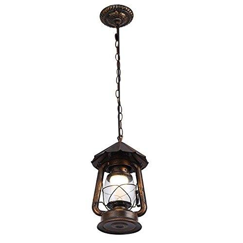 Deckenleuchte LED/Hurrikan-Lampe Industrieller Retro Leuchter Eisen-Kronleuchter/Amerikanisches Land des Öls Korridorlampe migrieren Lounge Restaurant Kronleuchter (Farbe: 110 V mit Leuchtmittel),