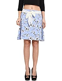 Albey Women's Floral Printed Skirt