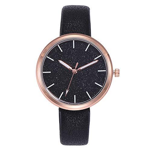 Uhren Damen Sportuhr Mode Strass Uhrenarmband Luxus Lederarmband Frauen beiläufige Quarz Analoguhrgeschenk Klassisch Uhr Exquisit Analoge Uhr,ABsoar